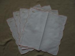 Petit Lot De 4 Mouchoirs Blancs DAMART - Mouchoirs