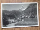 47920 POSTCARD: SWITZERLAND:  VS-VALAIS: Zermatt Et Le Cervin - Pont De La Lignr Du Gornergrat. - VS Wallis