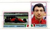 Figurines - Su Plastica  Di  MICHELE  ALBORETO  Su  FERRARI 126 C4 . - Personalità Sportive