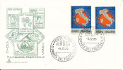 Italy FDC 5-12-1965 Stamp�s Day with cachet