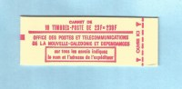 NOUVELLE CALEDONIE (New Caledonia) - Carnet (booklet) Concorde - YT C139 - 1973 - Booklets