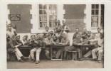 CPA PHOTO MILITARIA 327° R.I - Groupe Fantassins  Cantine Dartigeas, Régiment Dérivé 127° R.I Créé En 1914 Dissout 1919 - Regiments