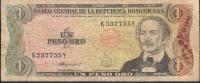 DOMINICA REPUBLIC P126c  1 PESO ORO  1988   FINE - Repubblica Dominicana