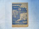 ANCIENNE PARTITION /  COUCHES DANS LE FOIN    / J. PILLS ET G. TABET - Musique & Instruments