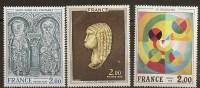 France - N° 1867/68/69  Tableaux - Unused Stamps