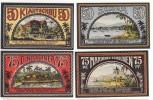 Deutsche Kolonien Notgeld 4 Scheine Samoa, Kiautschou, Neuguinea, Marianen-Karolinen - [12] Colonies & Foreign Banks