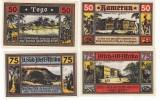 Deutsche Kolonien Notgeld 4 Scheine Togo, Kamerun, Deutsch-Ostafrika, Deutsch-Südwestafrika - [12] Colonies & Foreign Banks