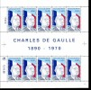 "S.P.M. - Feuille De 10 Du N°622 ""Charles De Gaulle "" - Sonstige"