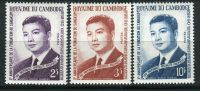 CAMBODGE ( POSTE ) : Y&T N°  153/155  TIMBRES  NEUFS  SANS  TRACE  DE CHARNIERE , A  VOIR . - Cambodia