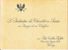 PETER,CAILLER,KOHLER . DEPLIANT PUBLICITAIRE SUR LE CHOCOLAT - EXPO NATIONALE SUISSE BERNE 1914 - Publicités
