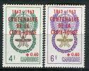 CAMBODGE ( POSTE ) : Y&T N°  139/140   TIMBRES  NEUFS  SANS  TRACE  DE CHARNIERE  MAIS  ROUSSEUR , A  VOIR . - Cambodia