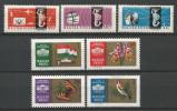 TP DE HONGRIE N° 1437 à 1439  +  1440 à 1443 NEUFS SANS CHARNIERE - Hongrie