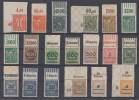 DR Lot Inflation Oberränder Postfrisch - Briefmarken