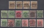 DR Marken Lot Inflation Gestempelt Lot 02 Ansehen !!!!!!!!!!!! - Briefmarken