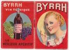 Publicité BYRRH - Byrrh Vin Tonique, Le Meilleur Apéritif (femme))