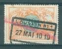 """BELGIE - OBP Nr TR 32 - Cachet  """"LOUVAIN Nr 1"""" - (ref. AD-333) - Chemins De Fer"""