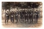 GIVET.Fort De CHARLEMONT.CLASSE 1907.Détachement D´artillerie.Carte Photo Envoyée Le 9-1-1910 - Givet