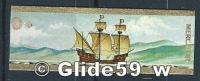 Bague De Cigare - Mercator - Série Navigation - N° 9 - Caraque Occidentale 1550 - Bagues De Cigares