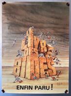 Affiche Pub. LE LIVRE DES BIDES - Ill. Gotlib - 1982 - Gotlib