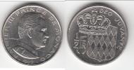 **** MONACO - 1/2 FRANC 1982 - DEMI FRANC 1982 - RAINIER III **** EN ACHAT IMMEDIAT !!!82 - 1960-2001 Nouveaux Francs