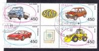 1986  BLOCCO  COSTRUZIONI AUTO  USATO - 6. 1946-.. Repubblica