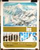 Affiche touristique LES HOUCHES - Au Pays du Mont Blanc - 1972