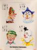 Affiche pub. CHANTEREINE La Bonne Humeur - Clowns
