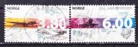 Norvegia 1998-Aerei-Usati - Norwegen