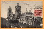 Mexico City 1905 Postcard Mailed - México