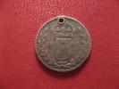 Grande-Bretagne - UK - 3 Pence 1900 Victoria - Trouée 1274 - 1816-1901 : Frappes XIX° S.