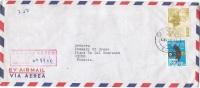 L-DIV 71 - PEROU N° 467 + PA 110 Sur Lettre Recommandée Par Avion Pour La France - Peru