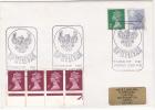 1987 LERWICk Shetland Islands COVER VIKINGS -  UP HELLYAA EVENT Pmk Gb  Stamps - 1952-.... (Elizabeth II)