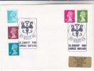 1988 LERWICK Shetland Islands COVER VIKINGS -  UP HELLYAA EVENT Pmk Gb  Stamps - 1952-.... (Elizabeth II)