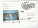 1995 Germany KIEL SHIP CANAL Anniv EVENT COVER Postal Stationery Card - Ships