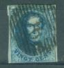 BELGIE - OBP Nr 11A - Medaillons - Lijnstempel 90 (OOSTENDE) - NIPA + 125 BF - 1858-1862 Medallions (9/12)
