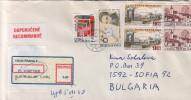 R- Envelope / Cover ) CZECH REPUBLIC/ BULGARIA - Tchéquie