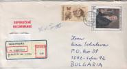 R- Envelope / Cover ) CZECH REPUBLIC/ BULGARIA   (Europa/ Art) - Tchéquie
