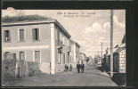 Cartolina Villa S. Giovanni, Via Valsesia, Palazzina Dei Ferrovieri - Other Cities