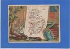 39 JURA - CHROMO (8,4x11,5) De La Carte Du Jura - France