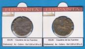 HISPANIA   CELIN  Caudete De Las Fuentes (Valencia)  As  Cobre  (Del 120 Al 20 A.C.)  SC/UNC  Réplica   T-DL-11.384 - Monnaies Antiques