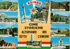 """ALTIPIANO DI ASIAGO--SETTE  COMUNI    (TIMBRO RIFUGIO FORTR CORBIN""""   (NUOVA) - Italia"""