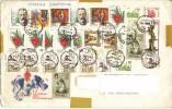 Sowjetunion   -  Bedarfsbrief        Gestempelt -  17 Stück - Machine Stamps (ATM)