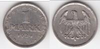 **** ALLEMAGNE - GERMANY - 1 REICHSMARK 1924 A - WEIMAR REPUBLIC - ARGENT - SILVER **** EN ACHAT IMMEDIAT - [ 3] 1918-1933 : Weimar Republic