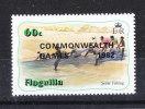 """Anguilla  -   1982. Pescatori.  Fishermen. Ovpt.  """" Commonwealth Games """". MNH - Giochi"""