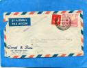 """MARCOPHILIE-PAKISTAN- """"under Postal Certificate"""" Lettre Cad 1959 Pour Françe-2 Stamps Puits Depétrole - Pakistan"""