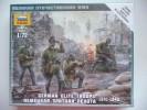 ZVEZDA 6180 - GERMAN ELITE TROOPS 1941-1943 - Scale 1/72. NEW. - Figurines
