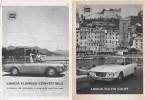 1966 - Automobili LANCIA (Fulvia Coupè - Flaminia Convertibile - Flavia) - 3 Pag. Pubblicità Cm. 13x18 - Cars