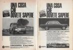 1966 - Automobili SIMCA (vari Modelli) - 6  Pag.  Pubblicità Cm. 13x18 - Cars