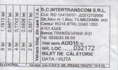 Romania bus coach ticket 1 travel
