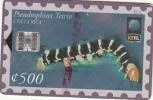 COSTA RICA - Pseudosphinx Tetrio 2(135000 ex), ICE Tel telecard, 01/99, used